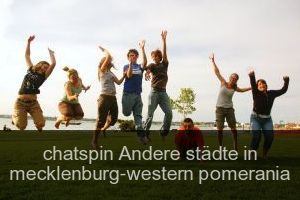 Chatspin Andere städte in mecklenburg-western pomerania